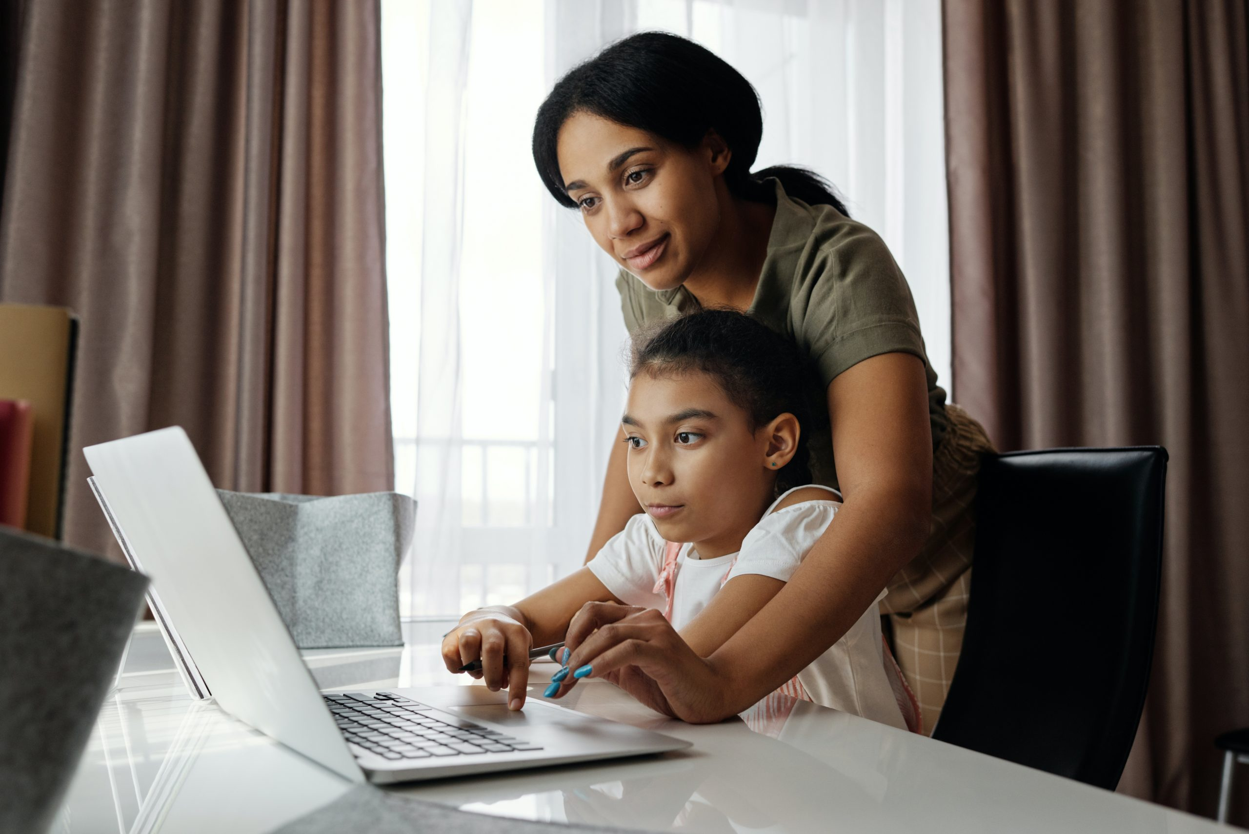 Family using school payment system